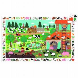 さがし絵パズル ファーム35ピース 幼児向け ジグソーパズル 2歳 3歳 誕生日プレゼント|mokuguru