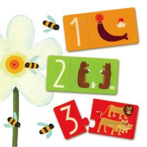 パズルデュオ ナンバーズ 数字 パズル 2歳 3歳 誕生日 プレゼント|mokuguru