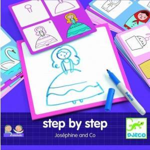 ステップバイステップ ジョセフィーヌ お絵かき おもちゃ 3歳 4歳 女の子 誕生日プレゼント|mokuguru