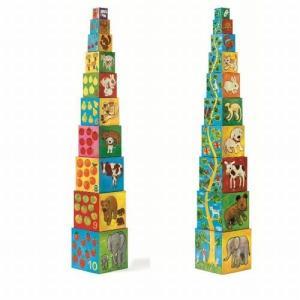 10マイフレンドブロックス 積み木 知育玩具 出産祝い 1歳 2歳 誕生日 プレゼント|mokuguru