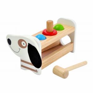 とんとんドギー ハンマートイ とんかち遊び 1歳半 2歳 誕生日 プレゼント|mokuguru