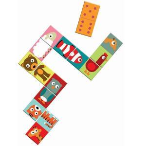 ドミノアニモ DJECO ジェコ 絵合わせ 知育玩具 2歳 3歳 誕生日 プレゼント|mokuguru