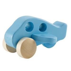 リトルプレイン 木のおもちゃ 飛行機 出産祝い 1歳 2歳 誕生日 プレゼント|mokuguru