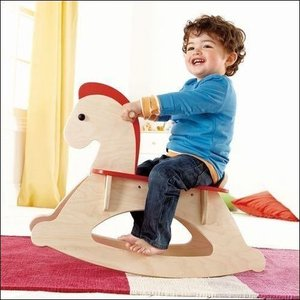 木馬 乗用玩具 ロッキングホース 出産祝い 1歳 2歳 誕生日 プレゼント 木のおもちゃ|mokuguru