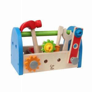 カーペンターツールボックス 大工遊び 工具 木のおもちゃ 3歳 4歳 誕生日 プレゼント|mokuguru