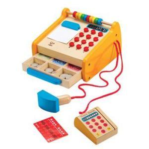 レジのおもちゃ お買いものごっこ チェックアウトレジスター 3歳 4歳 誕生日 プレゼント|mokuguru