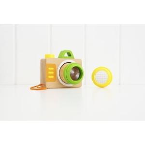 ミラクルカメラ 木のおもちゃ 1歳 2歳 3歳 誕生日 プレゼント|mokuguru