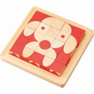 脳活キューブ 六面パズル キューブパズル 3歳 4歳 5歳 脳トレ 知育玩具 誕生日 プレゼント mokuguru