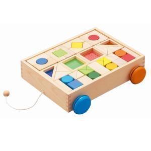 デザインつみき  エド・インター 積み木 木のおもちゃ 1歳 2歳 誕生日 プレゼント|mokuguru