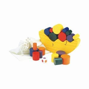 お月さまバランスゲーム エド・インター 木のおもちゃ 3歳 4歳 5歳 誕生日 プレゼント|mokuguru