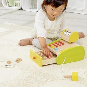 おもちゃ レジ お買いものごっこ 3歳 4歳 誕生日 プレゼント 森のくるくるピッピ!レジスター