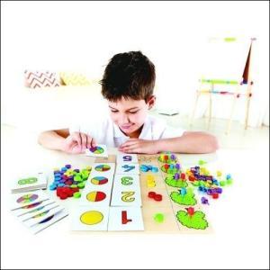 イクエイト かず 数字 ドイツ 知育玩具 3歳 4歳 誕生日 プレゼント|mokuguru