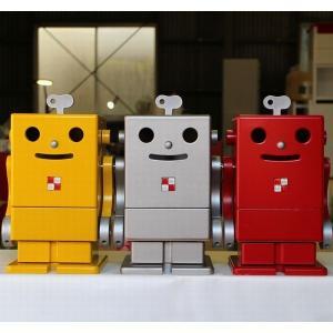 ピコ PICO 小さなロビット 卓上サイズ 収納ロボット 子供部屋 インテリア|mokuguru