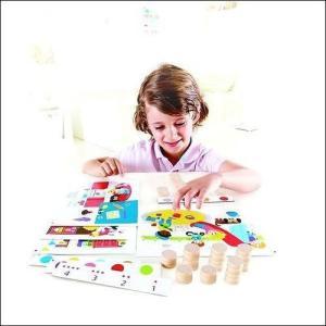 ファインド アンド カウントカラーズ かず 数字 色 知育玩具 3歳 4歳 誕生日プレゼント|mokuguru