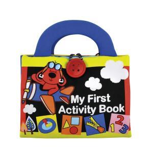 布絵本 ファースト・アクティビティ・ブック 2歳 3歳 誕生日 プレゼント|mokuguru