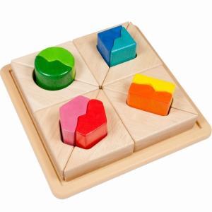 フィットミーイン2 形合わせ 型はめ パズル 知育玩具 1歳半 2歳 誕生日 プレゼント mokuguru