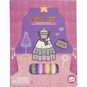おもちゃ 知育玩具 工作 女の子 5歳 6歳 7歳 誕生日 プレゼント ホイルアート プリンセス|mokuguru