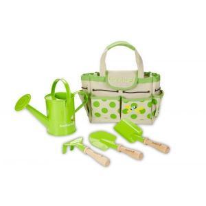 ガーデンバック&ツールセット 砂場遊び ガーデニング 3歳 4歳 5歳 誕生日 プレゼント|mokuguru