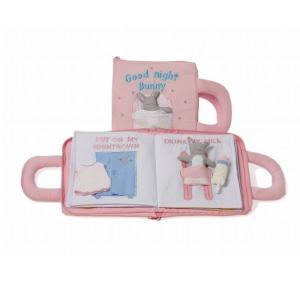 布絵本 グッドナイトブック ピンク 出産祝い 赤ちゃん 1歳 2歳 3歳 誕生日 プレゼント|mokuguru