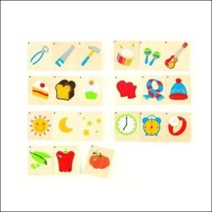 トリオ 絵合わせ 知育玩具 3歳 4歳 5歳 誕生日 プレゼント|mokuguru