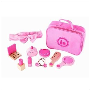 ビューティーセット メイク お化粧 ままごとセット 3歳 4歳 5歳 女の子 誕生日 プレゼント|mokuguru