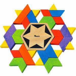 カレイドファン タングラム 幾何学 パズル 知育玩具 3歳 4歳 5歳 誕生日 プレゼント mokuguru
