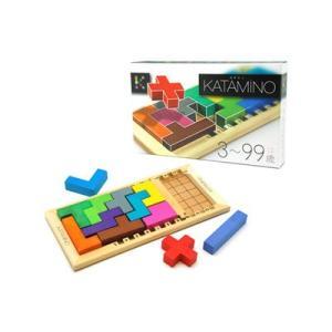 カタミノ KATAMINO 学習HAND BOOK付き  脳トレ パズル 知育玩具 ギガミック ボードゲーム
