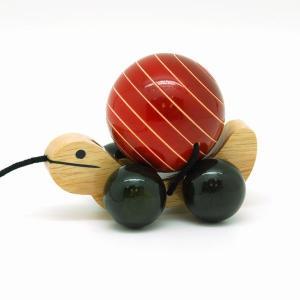 カメのプルトイ トゥトゥ 木のおもちゃ 出産祝い 1歳 2歳 誕生日 プレゼント|mokuguru