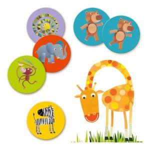 メモジャングル DJECO ジェコ 神経衰弱 メモリーゲーム 知育玩具 2歳 3歳 誕生日 プレゼント|mokuguru