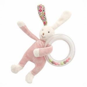 ムーランロティ リングラトル ベビーラビット 出産祝い 赤ちゃん おもちゃ ガラガラ プレゼント|mokuguru