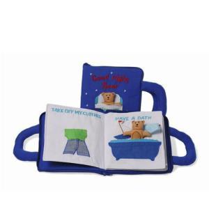 布絵本 グッドナイトブック ブルー 出産祝い 赤ちゃん 1歳 2歳 3歳 誕生日 プレゼント|mokuguru