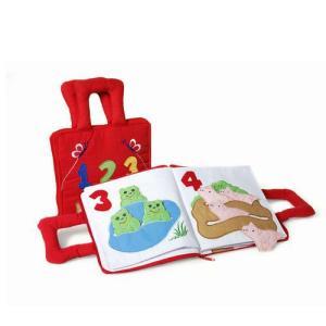 布絵本 ブック123  赤ちゃん 1歳 2歳 3歳 布おもちゃ 知育玩具|mokuguru