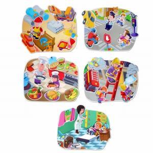 ピープルアットアーク 絵合わせ パズル 2歳 3歳 知育玩具 誕生日プレゼント mokuguru