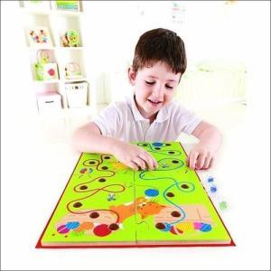 スクリブルメイズ ビー玉 迷路 木のおもちゃ 知育玩具 3歳 4歳 5歳 誕生日 プレゼント|mokuguru