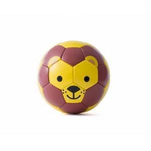 ライオン柄のミニサッカーボール SFIDA スフィーダ アニマルフットボール 外遊び おもちゃ|mokuguru