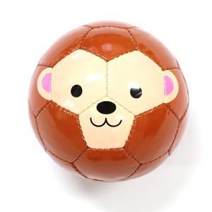 アニマルフットボール サル SFIDA スフィーダ ベビー キッズ 外遊び おもちゃ|mokuguru