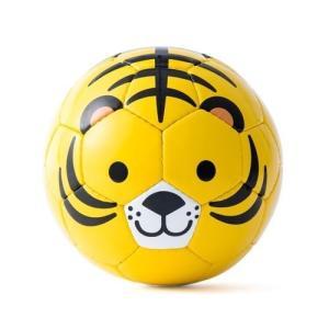 トラ柄のミニサッカーボール SFIDA スフィーダ アニマルフットボール 外遊び おもちゃ|mokuguru