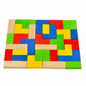 スタッキングパズルズ テトリス パズル 知育玩具 3歳 4歳 5歳 誕生日 プレゼント mokuguru