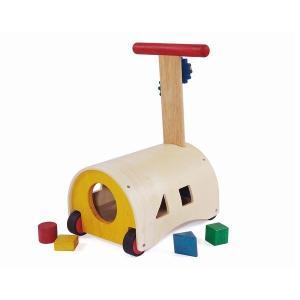 のっておして!すくすくウォーカー 赤ちゃん 手押し車 乗用玩具 出産祝い 1歳 誕生日 プレゼント 木のおもちゃ|mokuguru