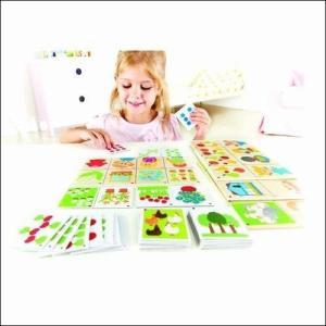 テーマカウント かず 数字 知育玩具 3歳 4歳 誕生日 プレゼント  |mokuguru