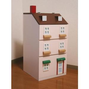 タウンチェスト ピンク 収納 家具 子供部屋 インテリア 日本製|mokuguru