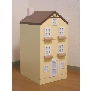 タウンチェスト イエロー 収納 家具 子供部屋 インテリア 日本製|mokuguru