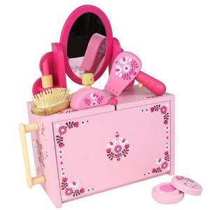 ままごとドレッサーセット おしゃれ遊び おもちゃ 3歳 4歳 女の子 誕生日  プレゼント|mokuguru