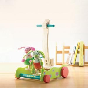 ホッピング・バニーウォーカー 赤ちゃん 手押し車 カタカタ 出産祝い 1歳 誕生日 プレゼント|mokuguru