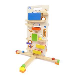 トリックストラック タワーラウンチャー 玉転がし スロープ おもちゃ 3歳 4歳 5歳 誕生日 プレゼント|mokuguru