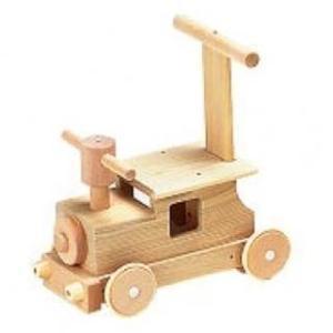 森の汽車ポッポ 赤ちゃん 手押し車 乗用玩具 木のおもちゃ 日本製|mokuguru