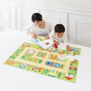 ワンくんのたのしいおつかい 車 絵本 おもちゃ 1歳 2歳 3歳 誕生日 プレゼント|mokuguru