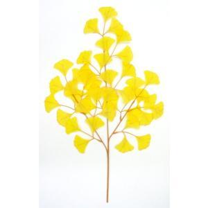 造花 いちょう中枝 5本セット|mokukouya