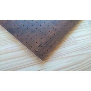 有孔(穴あき)ボード Vintage Brown910x450x厚み5.5mm 1260g