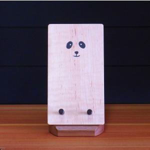 パンダのスマホスタンド mokuzoukousya2